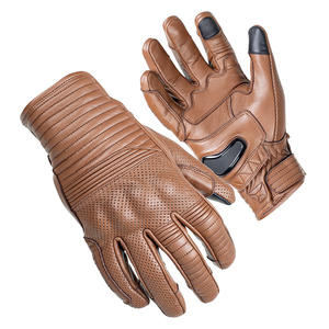 """""""The Bully"""" Short Cuff Leather Gloves 3 Thumbnail"""