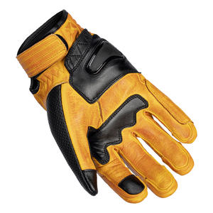 """""""The Bully"""" Short Cuff Leather Gloves 4 Thumbnail"""