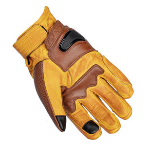 """""""The Bully"""" Short Cuff Leather Gloves 5 Thumbnail"""