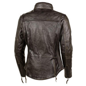 "Women's ""The Lolo"" Leather Jacket 4 Thumbnail"