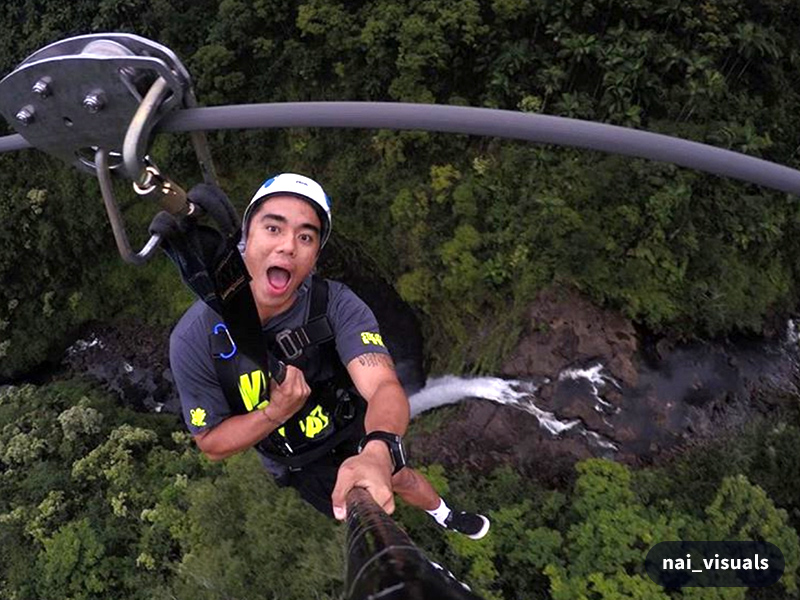 Tips For Getting a Great Zipline Action Photo