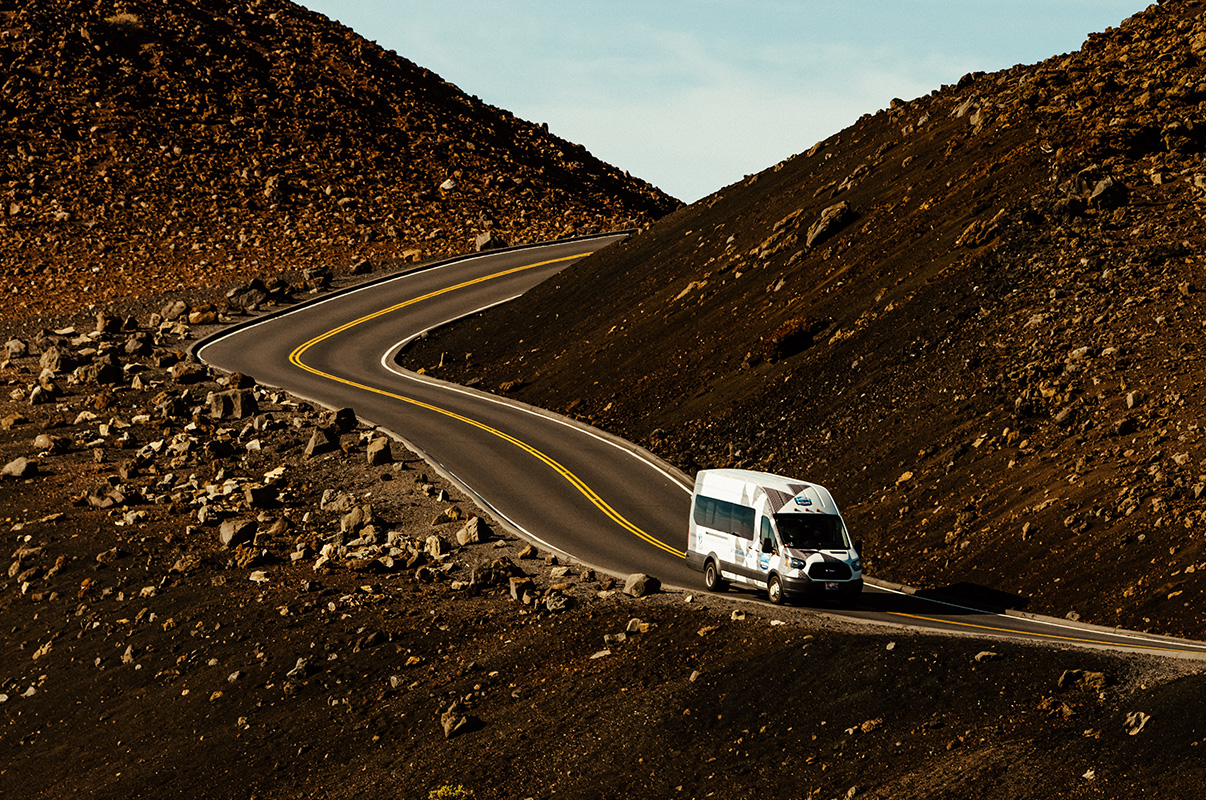 haleakala tour bus